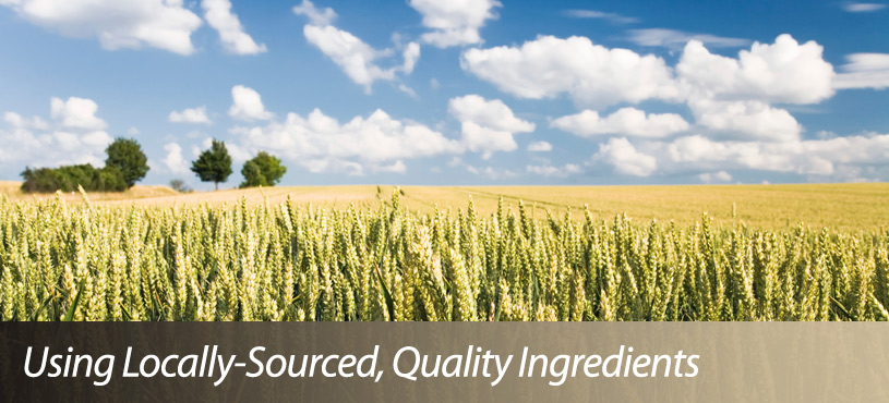 Using Locally-Sourced, Quality Ingredients