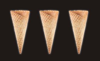 Medium Wide Waffle Cones