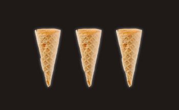 Mini Waffle Cone